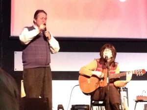 JR and Nancy at Valentine Dinner Faith Church Melvindale MI