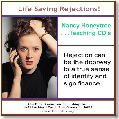 Life Saving Rejections – Teaching CD | Honeytree